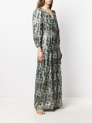 BA&SH Gullian maxi dress