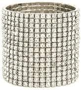 Forever 21 Rhinestone Stretch Bracelet