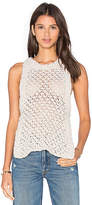 For Love & Lemons KNITZ Mulberry Tank in Ivory. - size M (also in )