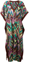 M Missoni zigzag print shift dress - women - Silk/Cotton/Acetate - S