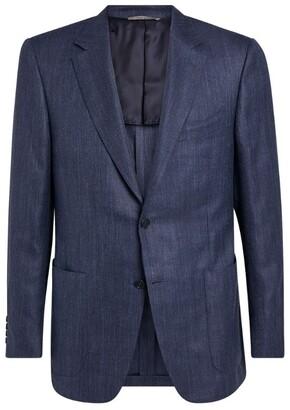 Canali Wool Tailored Jacket