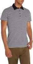Diesel Men's Striped Logo Polo Shirt