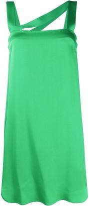 Iceberg Diagonal-Strap Dress
