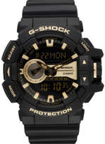 G-Shock Duo Rotary, Blk/Gold, Resin