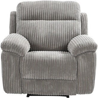 Baron Fabric Manual Recliner Armchair