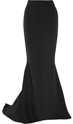 Reem Acra Silk Crepe De Chine Maxi Skirt