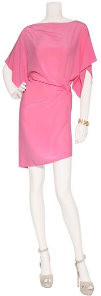 Ungaro Pink Silk Tunic Dress
