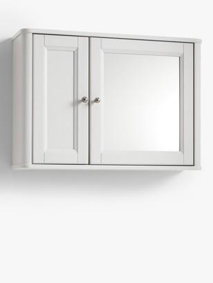 John Lewis & Partners Portsman Double Bathroom Wall Cabinet