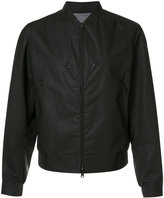 Y-3 zip up bomber jacket - men - Cotton/Polycarbonite - M