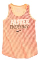 Nike Girl's Dry Faster Everyday Tank
