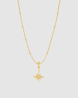 Wanderlust + Co Beaded Necklaceand Wishing Star CharmSet