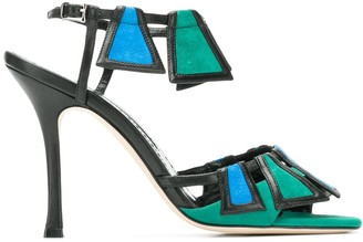 Manolo Blahnik Chamba 105 sandals