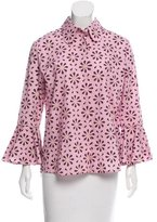 Holly Fulton Printed Button-Up Top