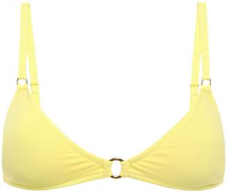 Melissa Odabash Montenegro Ring-embellished Triangle Bikini Top