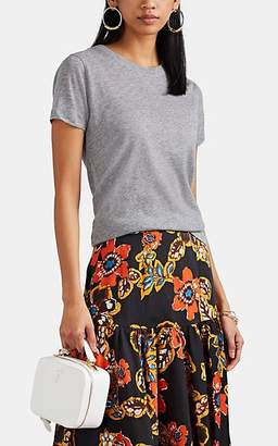 Barneys New York Women's Cashmere T-Shirt - Light Gray