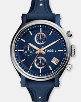Fossil Original Boyfriend Blue Chronograph Watch