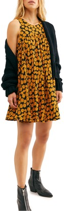 Free People Electric Daisy Mini Dress