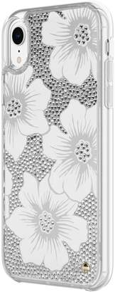 Kate Spade iPhone XR Clear Crystal Phone Case