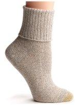 Gold Toe Women's Bermuda Turn Cuff Sock, size 9-11