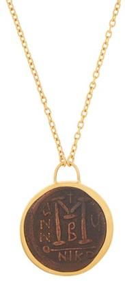 Eli Halili - Byzantine Coin 22kt Gold Pendant Necklace - Gold