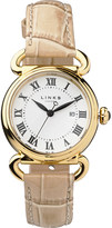 Links of London Driver yellow gold-plated watch