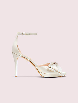 Kate Spade Bridal Bow Sandals