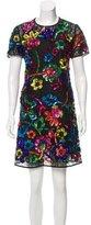 Burberry Embellished Silk Dress