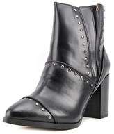 Report Jewel Women Round Toe Leather Ankle Boot.