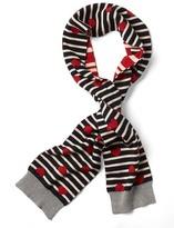 Gap Reversible striped love scarf