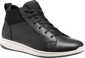 Superfeet Women's Sneakers Black - Black Newberry Leather Hi-Top Sneaker - Women