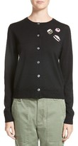 Marc Jacobs Women's Candy Embroidered Cardigan