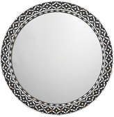 Jamie Young Evelyn Round Mirror - Black/White
