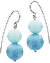 Antigua Jan Logan Sterling Silver Blue Jasper Earrings