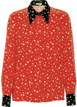 Miu Miu Star-Print Shirt