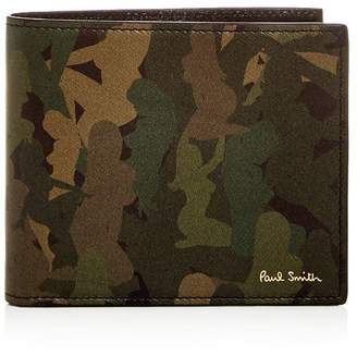 Paul Smith Naked Lady Camo Leather Bi-Fold Wallet