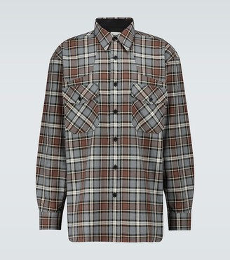 Dries Van Noten Checked flannel shirt