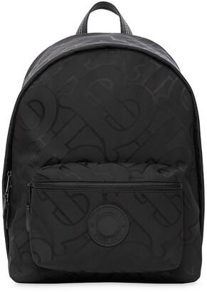 Burberry Monogram Jacquard Backpack