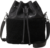 Liebeskind Berlin Louisville Mississippi Leather Bucket Bag, Oil Black