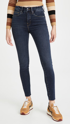 Good American Good Legs Raw Edge Jeans