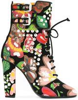 Giuseppe Zanotti Design 'Brenda' boots - women - Calf Leather/Leather - 37