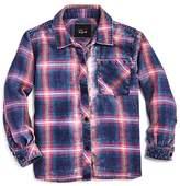 Rails Girls' Faded-Wash Plaid Shirt - Little Kid, Big Kid