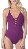 LaBlanca La Blanca Plunging Crisscross-Back One-Piece Swimsuit