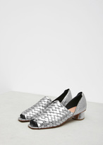Rachel Comey galina foil gaia metallic leather sandal