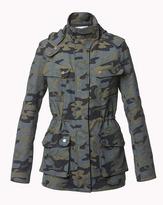 Veronica Beard Elba Hooded Flack Jacket