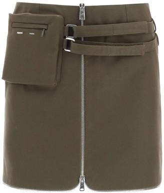 Coperni Belted Waist Mini Skirt