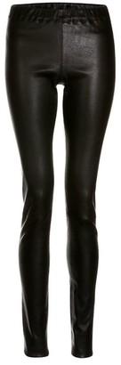 Elle.Sd Leather Leggings In Black