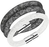 Swarovski Stardust Crystal Filled Mesh Bracelet - Set of 2