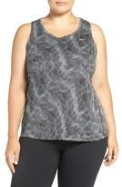 Nike Plus Size Women's 'Miller' Racerback Dri-Fit Tank