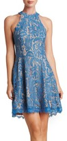 Dress the Population Women's Angie Halter Dress