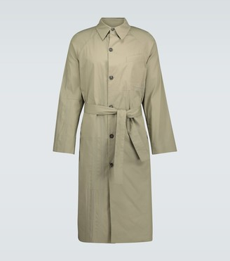 Rochas Embroidered Quinto trench coat